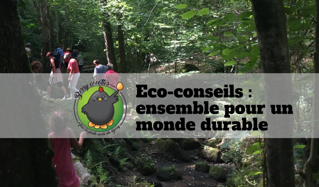 Eco-conseils : ensemble pour un monde durable